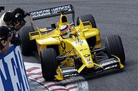 チームメイトのジャンカルロ・フィジケラ同様、佐藤琢磨は苦戦を強いられた。予選16位、決勝11位(写真は本田技研工業)