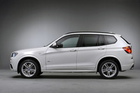 BMW、「X3」にM Sportsパッケージを設定の画像