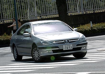 プジョー607コンフォート(4AT)【試乗記】