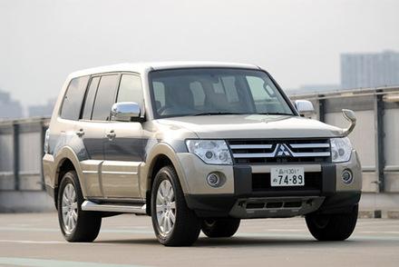 三菱パジェロロング スーパーエクシード(4WD/5AT)【ブリーフテスト】