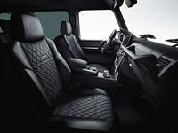 「G65エディション463」の内装。色は「designoブラック/ブラック」。