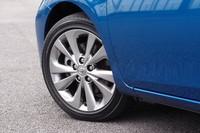 スポーティーグレード「RS」にオプション設定される17インチアルミホイール。