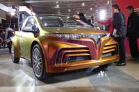 トヨタ社内の有志が作った「TES-CROSS」はコンパクトなオープンカー。ベースモデルはなんと「ヴィッツ」。