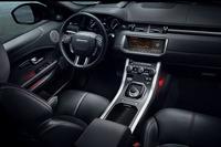 「レンジローバー イヴォーク」に赤と黒のコントラストが特徴の限定車の画像