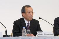 トヨタの内山田竹志取締役副社長。
