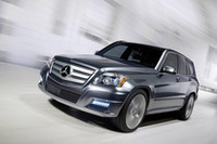 【デトロイトショー08】メルセデスから新型車GLKクラス