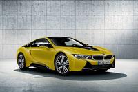 「BMW i8プロトニックフローズンイエロー」