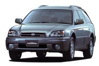 「スバル・レガシィ アウトバック」 1994年に「レガシィ」をベースにしたクロスオーバーSUVとしてアメリカでデビュー。翌年日本で「レガシィ グランドワゴン」という名前で発売された。映画に登場するのは2代目モデルで、日本では「ランカスター」というサブネームが与えられていた。