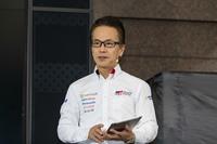 TOYOTA GAZOO Racingカンパニープレジデントの友山茂樹氏。日本はもとより、海外にも多くのファンが生まれたことを何より喜んでいた。