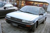 「トヨタ・カローラ」。日本における6代目「スプリンター」のハッチバック版「シエロ」である。
