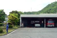 敷地内には私設消防署も完備。