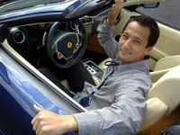 """第239回:フェラーリF430スパイダー初試乗 ビックリ! コイツは""""走る舞台芸術""""だ!!の画像"""