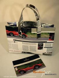 マセラティ95周年記念エコバッグは、カタログ再生!?の画像