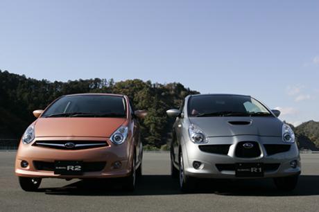 スバルR1S(FF/CVT)/スバルR2 Refi(FF/CVT)……153万3000円/112万3500円スバルの軽自動車「R1」「R2」...