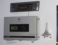 これがアルパインのPXE-H650。マイクで実測しながら理想の音場を自動的に創り出すデジタルプロセッサー。