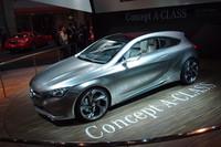 次期型「Aクラス」のデザインスタディーモデル「Concept Aクラス。