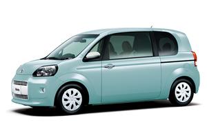 トヨタが「ポルテ/スペイド」を一部改良、特別仕様車も