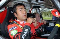 三菱ランサーを駆る奴田原文雄が、まさかの逆転で開幕戦に次ぐ2勝目をあげた。