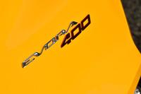 車名の「400」は、同車の最高出力が400hp(406ps)であることに由来する。