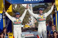 WRCスペイン、マルティン2連勝でランキング2位争い激化【WRC 04】の画像