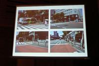 """パネルディスカッションでは、スライドによる""""現場検証""""が行われ、問題点が指摘された。"""
