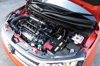 「K12C」と呼ばれる自然吸気の1.2リッター直4エンジン。最高出力91ps/6000rpm、最大トルク12.0kgm/4400rpmを発生する。