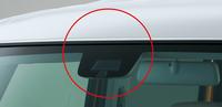車両の前方を監視するレーザーレーダー。