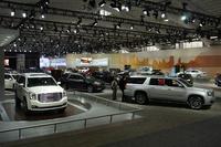 GMが展示を行ったノースホールの様子。