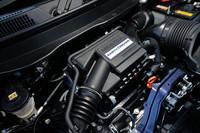 「N-ONE」に搭載されるターボエンジン。先に発売された「N BOX」「N BOX+」のものをベースとしながら、さらなる冷却効率の向上や摩擦抵抗の低減などが図られている。