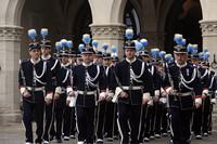サンマリノ共和国の執政交代式セレモニー。2012年4月1日。
