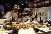 2015年1月6-9日にラスベガスで開催された、世界最大のエレクトロニクス製品見本市「CES 2016」。これはキヤノンのブース。