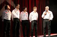 WRC 2007年シーズンを戦うチームメンバー。