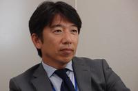モビリティランドの広報課課長、上野禎久さん。