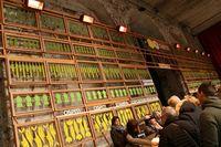 古いファサードとアーチもそのまま残され、現在はイベント開催時のゲートとして用いられている。