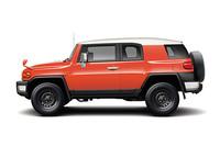 「トヨタFJクルーザー」に新色と新機能追加
