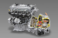 現行「トヨタ・プリウス」に搭載されるハイブリッドシステム「THS II」。