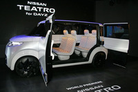 軽自動車のコンセプトカー「テアトロ for デイズ」。