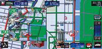 通常の交差点拡大はこんな感じ。2画面表示もできる。