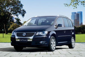 「VWゴルフ・トゥーラン」が高出力、低燃費にマイナーチェンジ