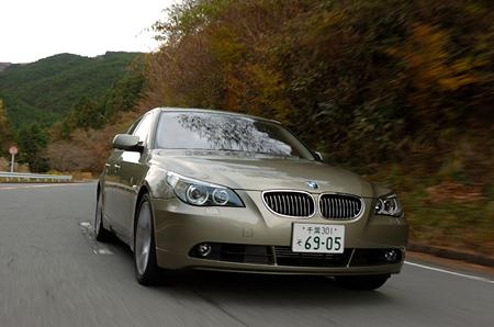 BMW540i(FR/6AT)【試乗記】