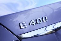 新型「E400」は、ハイブリッド車だった先代モデルと異なり、純粋なガソリンエンジン車となっている。