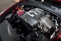 搭載されるエンジンは2リッター直4ターボ。276psと40.8kgmを発生する。