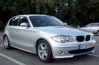 BMW1シリーズのMTモデルは、すべてアイドリングストップ付きに。写真はマイナーチェンジ前の「118i」。