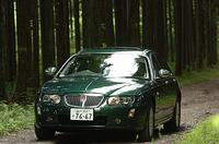 【スペック】75サルーン:全長×全幅×全高=4755×1780×1425mm/ホイールベース=2745mm/車重=1530kg/駆動方式=FF/2.5リッターV6 DOHC24バルブ(177ps/6500rpm、24.5kgm/4000rpm)/価格=498.0万円(テスト車=同じ)