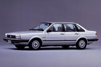 「日産フォルクスワーゲン・サンタナ」(M30型)。これは登場年である1984年の、5気筒エンジンを載せた「2000Xi5」。