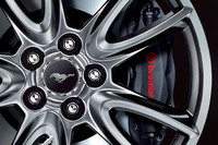 フォード・マスタングに赤内装の特別限定車の画像