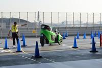 「テストライド」で次世代自動車を体験試乗の画像