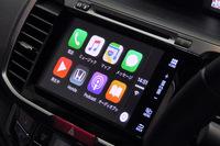 全車標準装備となった純正ナビゲーションシステム「Hondaインターナビ」は、新たに「Apple CarPlay」に対応した。