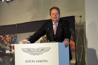 アンディ・パーマー氏は日本市場での展望に加え、すべてのスポーツカーモデルの刷新など、モデルラインナップの将来的な計画についても語った。