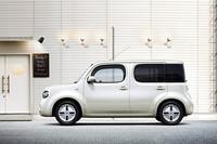「日産キューブ」に華やかな内装の特別仕様車